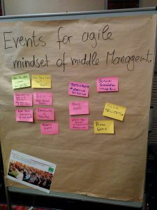 agile for middle management